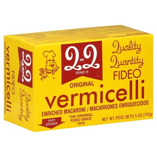 Q&Q Vermicelli Pasta (Fideo) (Pack of 6) (Original - 5oz Box)
