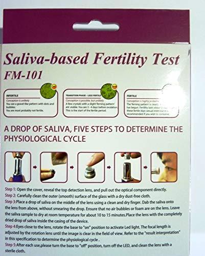 Ovulation Checker - Saliva-Based Fertility Test PAJON