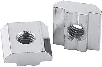 50 stks/partij Aluminium Profiel Moer, Sliding T-slot Moer, T-Noten voor Aluminium Profiel Accessoires, met Clear Box, T-m...