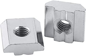 M20 x 2.5 Thread Fits 22 mm Table Slot J.W 508F Steel T-Slot Nut with Spring Winco A89904 No