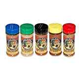 Set of 5 Key West Spice Company Spices Gift Set - Includes Southernmost Blend, Key Lime Seasoning, Island Grill, Seafood Seasoning, and Island BBQ
