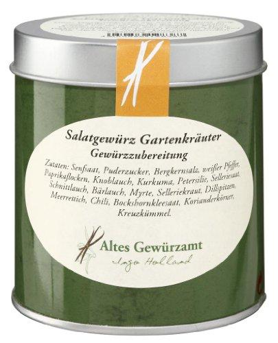Ingo Holland Salatgewürz Gartenkräuter Gewürzzubereitung wegen geringem Salzanteil 80 g