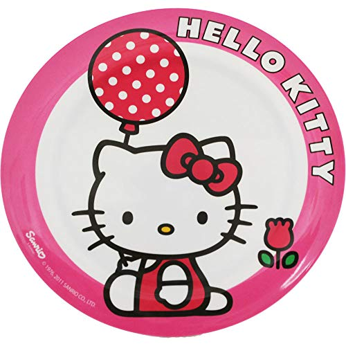 Hello Kitty - Plato (plástico), diseño de Hello Kitty