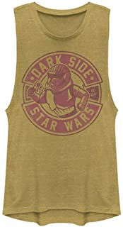 Star Wars Junior's Festival Muscle Tank, Gold Heather, XX-Large