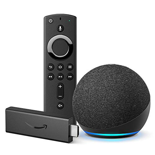 All-new Fire TV Stick and All-new Echo Dot (Charcoal) bundle