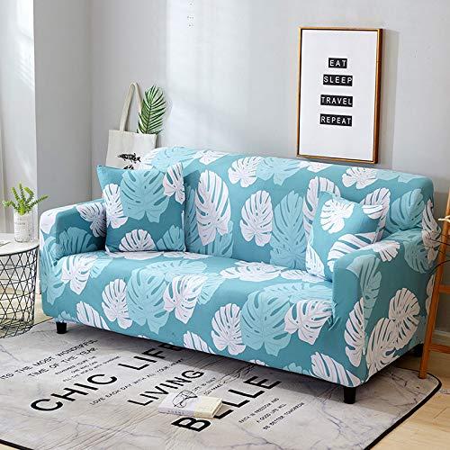Cubierta de partición elástica elástica tipo envoltura cubierta de sofá con todo incluido, utilizada para la cubierta del sofá de la sala de estar cubierta de sofá decorativa en forma de L A7 4 plazas