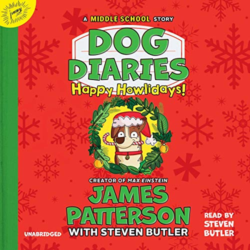 Dog Diaries: Happy Howlidays audiobook cover art
