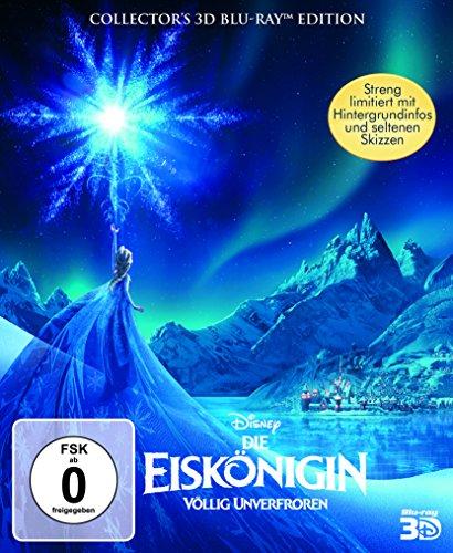Die Eiskönigin - Völlig unverfroren - Digibook (+ BR) [3D Blu-ray]