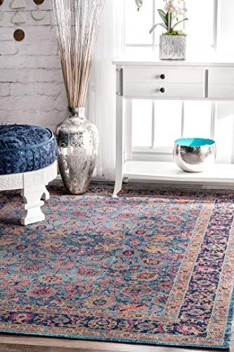 nuLOOM Isela Vintage Persian Area Rug, 5