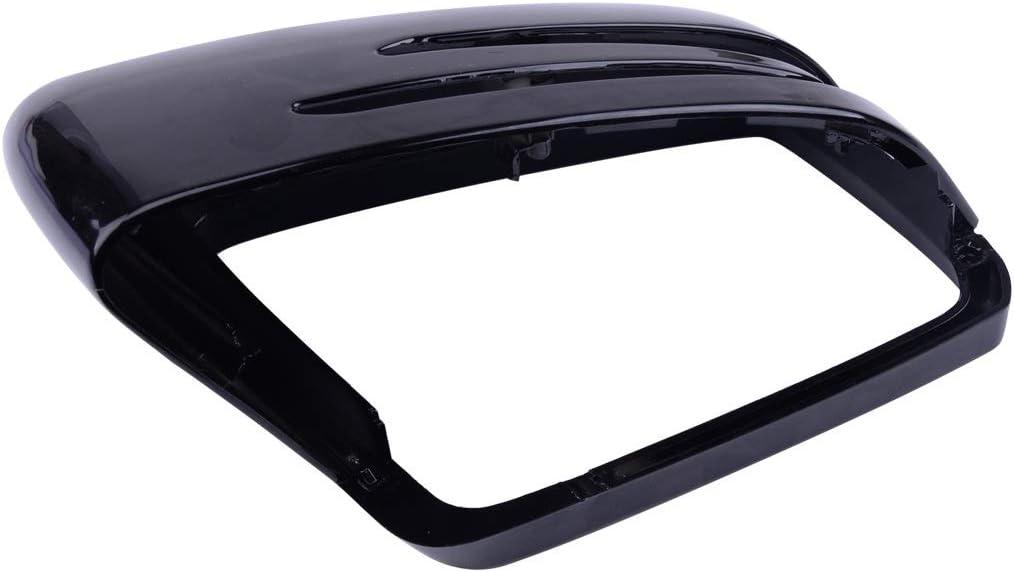 KHJK 1PC Plastic Glossy Black Max 81% OFF Car Cap Mirror Cover Wing Left Superior Com