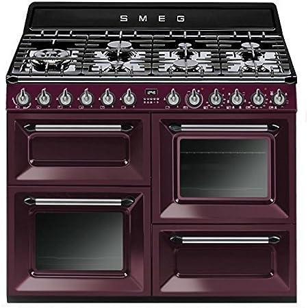 Smeg Tr4110rw1 Libera Installazione Piano Cottura A Gas A Porpora Cucina Amazon It Grandi Elettrodomestici