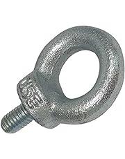 AERZETIX: 2x Pernos roscados anillo con ojo ojal M6x12mm DIN580 acero galvanizado C18906