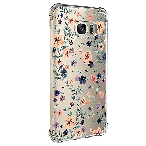 Kompatibel Mit Samsung Galaxy S7 Hülle,Transparent Handyhülle Crystal Clear Ultra Dünn Durchsichtige Weiche Silikon Schutzhülle Schutz Case Bumper Cover für Samsung Galaxy S7 (8)