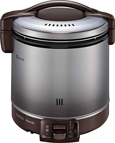 リンナイ ガス炊飯器 「こがまる」 1升 RR-100FS(DB) ブラウン プロパンガス用 RR-100FS(DB)/LP