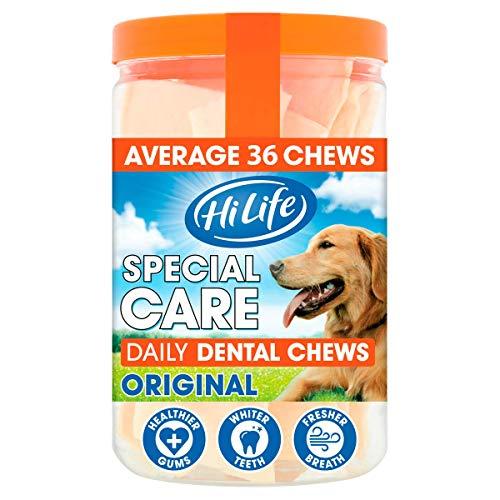 Hilife Special Care Daily Dental Dog Chews Original - Pack of 3