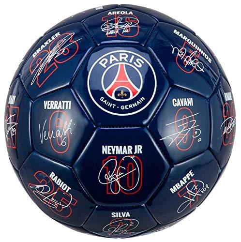 PSGFußball –mit den Unterschriften der Spieler–Offizielle Kollektion von Paris Saint-Germain T5