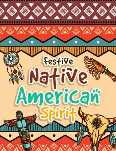 Festive Native American Spirit: Tribal Culture Coloring Activity For Kids