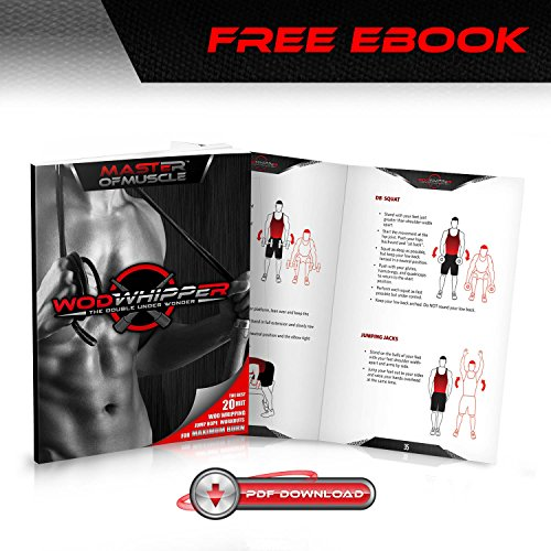 Speed Rope Springseil High Speed Seil Perfekt für Double Unders Optimal für Crossfit  WODs Boxtraining MMA und Fitness Abbildung 2