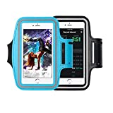 [2 piezas] Brazalete deportivo universal para teléfono móvil, mejor soporte para banda de brazo para teléfono deportivo, bolsa para teléfono deportivo.