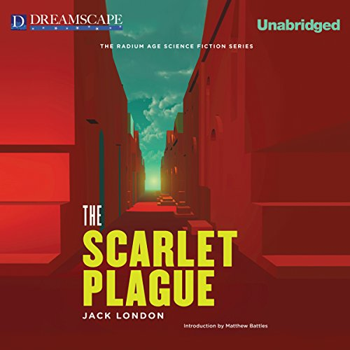 The Scarlet Plague audiobook cover art