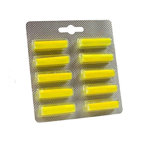 30 Duftstäbchen Zitrone gelb. Duftis, Lufterfrischer für Vorwerk,Bosch, Miele, AEG und alle anderen