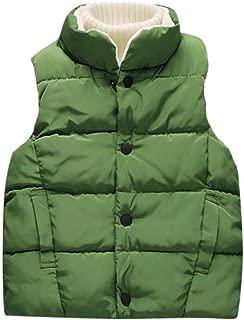 Anxinke Kids Boys Girls Cute Cat Printed Winter Warm Down Vest