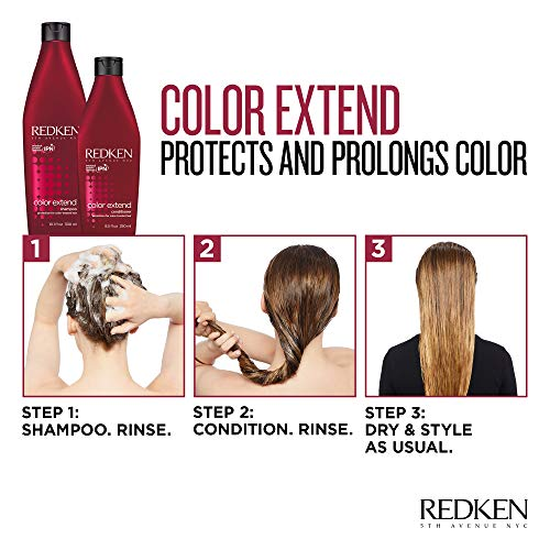 REDKEN Color Extend Shampoo | for Color-Treated Hair | Cleanses Hair Leaving It Manageable & Shiny