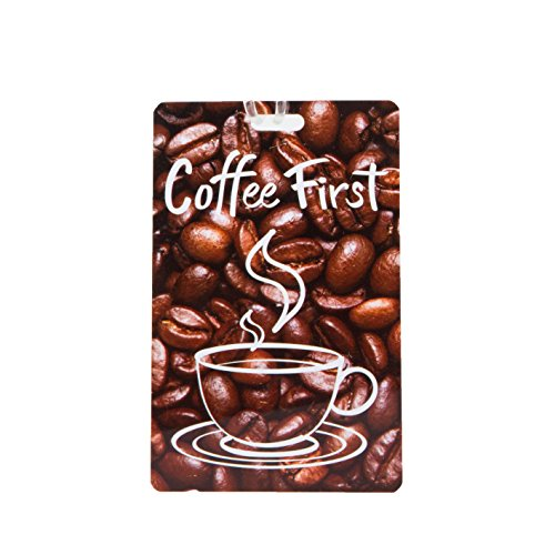 Travelon Personal Expression Luggage Tag,Coffee