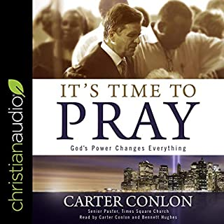 It's Time to Pray audiobook cover art