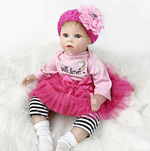 ZIYIUI Muñeca Reborn Bebé Reborn Niños Suave Silicona Vinilo Realista Reborn Baby Doll Niño Magnetismo Juguetes Bebes munecos Reborn Reales Silicona Bebe (1)