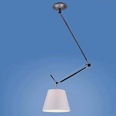 FXING Araña creatividad individualidad minimalista moderno candelabros giratorio de aluminio