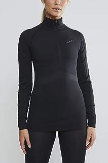 Craft Women's Active Intensity Zip Long Sleeve Base Layer Shirt