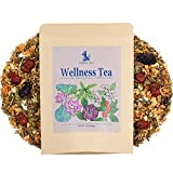 PARA AU Wellness Tea - Herbal Tea for Diabetic, Blood Pressure, Stress and Anxiety, Sleep - 30 Cups (Loose Leaves 4.4oz)