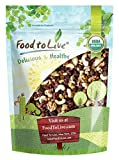 Super Nuts and Berries Trail Mix, 2 Pounds — Raw Organic Nuts and Berries including Cashews, Walnuts, Brazil Nuts, Raisins, Mulberries, Golden Berries, and Goji Berries. Non-GMO, Non-Irradiated, Vegan