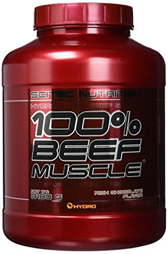 Scitec Nutritiongainer Beef Muscle, Schokolade, 3180g