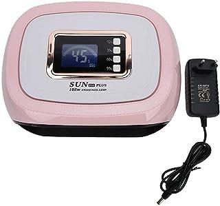 Lámpara de uñas LED UV Wchiuoe 108W, lámpara de Gel UV de sincronización inteligente, máquina de curado de uñas, secador de esmalte de uñas, herramienta de manicura(EU Standard)