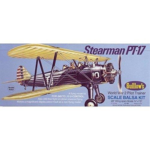 GUILLOW's Stearman PT-17 Model Kit by Guillow's