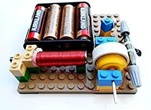 Simple Electric Reed Switch Motor Kit #14 - DIY Science Projects & Kids Education