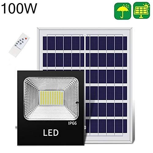 XP Luces Solares de Inundación LED 30W /50W De Luz De Inundación Proyectores Exterior A Prueba De Agua con Sensor De Movimiento Al Aire Libre Jardín Parque Foco Farola (Size : 100W)