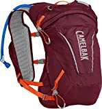 Camelabak Women's Octane 9, pack Mixte Adulte, Burgundy/Hot Coral, Einheitsgröße