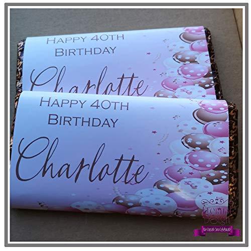 eterna personalizzato compleanno cioccolato Bar Wrapper bdcb 3