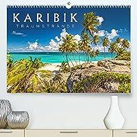 Karibik - Traumstraende (Premium, hochwertiger DIN A2 Wandkalender 2022, Kunstdruck in Hochglanz): Sonne, Meer und karibische Traumstraende (Monatskalender, 14 Seiten )