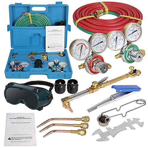 ZenStyle Oxygen & Acetylene Gas Cutting Torch and Welding Kit