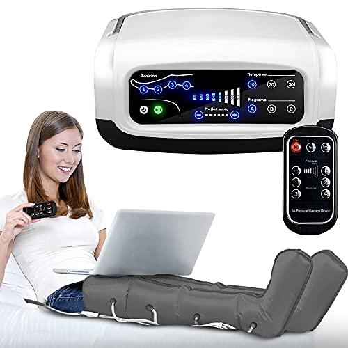 GridinLux. Pressoterapia con telecomando. Accessori braccio, gambe, addome. Facile da usare Uso domestico Telecomando