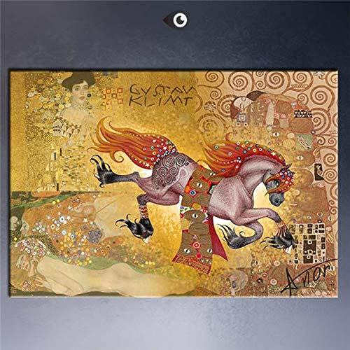 AJleil Puzzle 1000 Piezas Pintura de Arte Enorme Pintura Decorativa Europea Puzzle 1000 Piezas educa Juego de Habilidad para Toda la Familia, Colorido Juego de ubicación.50x75cm(20x30inch)