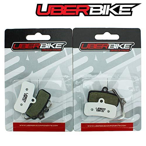 Uberbike Shimano Deore XT BR-M8020 - Pastillas de freno de 4 pistones (2 pares)