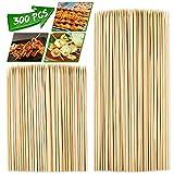10.5cm caña Natural palos de bambú brochetas Ideal Buffet canapés y fiesta de alimentos
