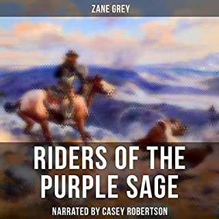 Riders of the Purple Sage audiobook cover art