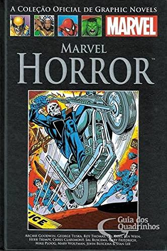 Livro Marvel Horror