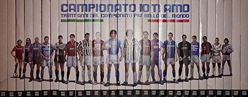 'Campionato Io Ti Amo - 1978/2008: Trent'anni Del Campionato Più Bello Del Mondo' - (30 Dvd + Booklet/Almanacco Interno) (Edizione Editoriale) (2007/2008)